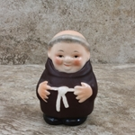 Goebel Figurine, Friar Tuck P 153/0 Tmk 2, Salt, Type 1