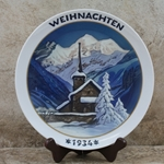 Rosenthal Weihnachten Christmas Plate, 1934 Older Version