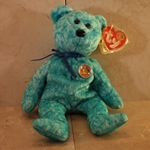 2003, January, Sparkles, Beanie Baby Of The Month (BBOM), Type 1, 2002©