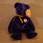 2004, May, Sapphire, Beanie Baby Of The Month (BBOM), Type 1, 2003