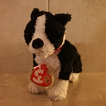 2006, September, Barklowe, Beanie Baby Of The Month (BBOM), Type 1, 2006©