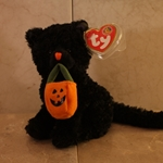 2007, October, Jinxed, Beanie Baby Of The Month (BBOM), Type 1, 2007©