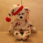 1998 Holiday Teddy, Bear, 5th Generation, Swing Tag, 6th Generation, Tush Tag, Type 1, 1998 ©