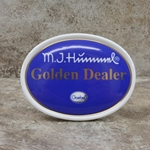 M.I. Hummel Aufsteller Plaque Golden Dealer Tmk 6, Type 1