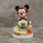 M.I. Hummel 197 2/0 Be Patient Tmk 6, Disney Figurine, 1994, Type 1