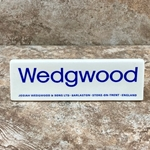 Wedgwood Porcelain Plaque, Type 1