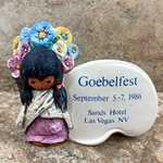 Goebel Figurine, The Children of DeGrazia® Series, 59 025 Goebelfest, Tmk 6, Type 1