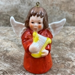 Goebel Figurine, 1978 Angel Bell Annual Christmas Tree Ornament, Tmk 5, Type 1