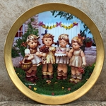 Danbury Mint, M I Hummel Century Plate ~ We Wish You The Best